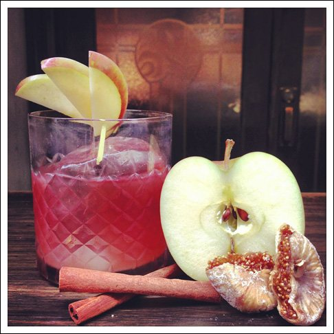 The 'Apple Thief' at Lily Black's