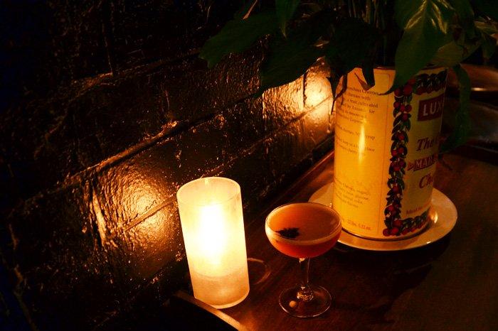 Sinnerman - Rum, Mister Bitters Fig & Cinnamon, Lemon, Orgeat