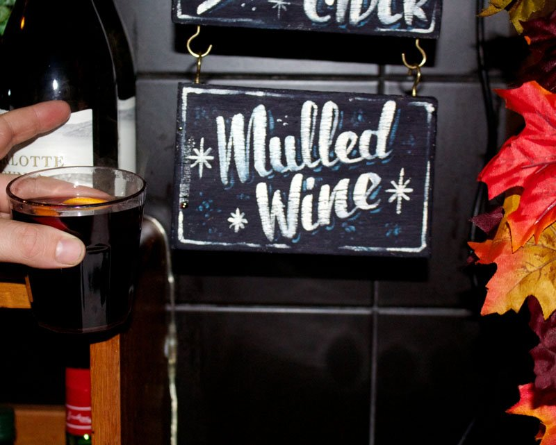 rooftop bar's mulled wine