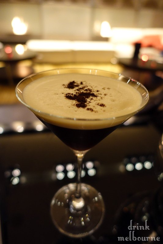 Espresso Honey Martini by Market Lane Bar