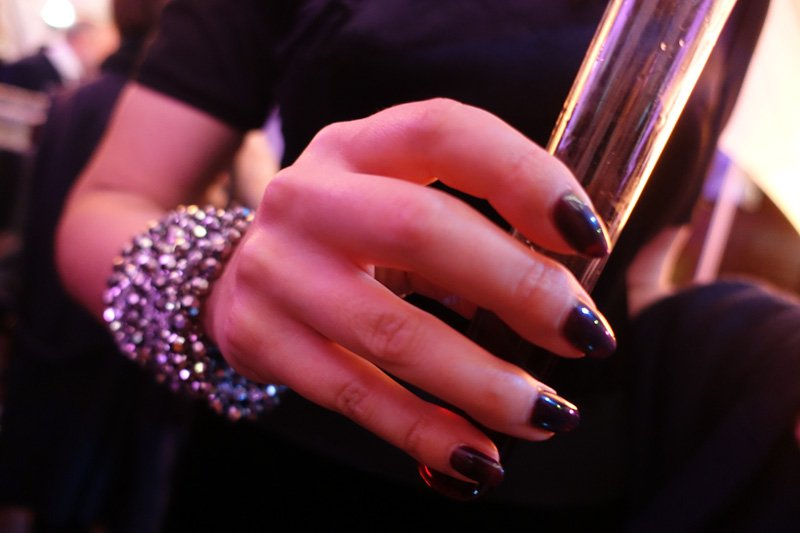 Nails by Miss Fox salon: Blend by Yarrabank and Matcho Suba at MSFW