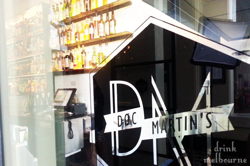 Doc Martin's Collins Street Melbourne bar