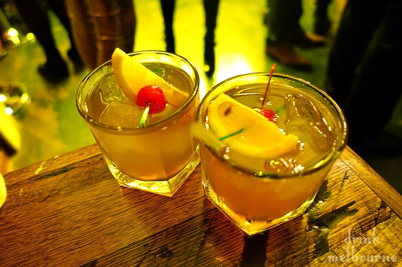 American Deep South cocktail by Le Bon Ton