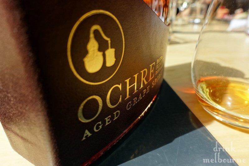 Ochre Cognac style aged spirit by Bass & Flinders
