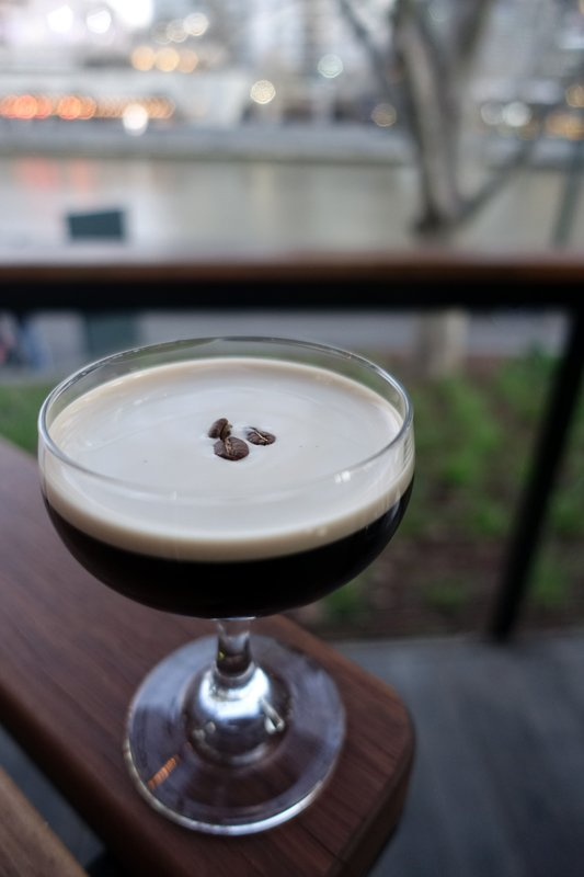 Espresso martinis on tap at Arbory