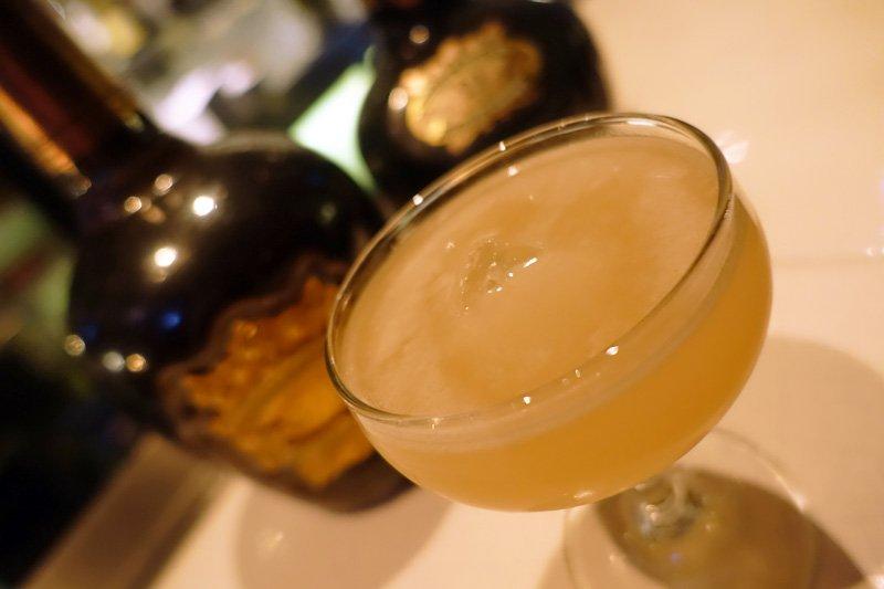 Honey & Ginger Whisky Sour