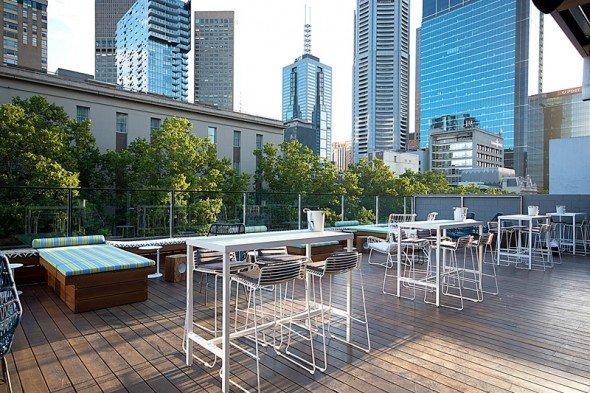 The Imperial Hotel Rooftop Beer Garden