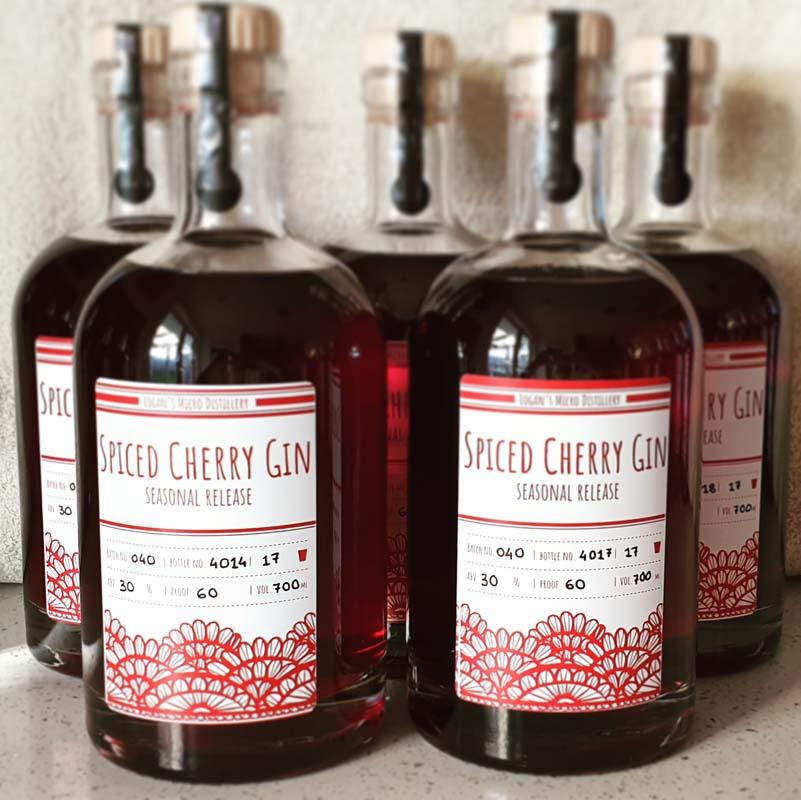 Spiced Cherry Gin
