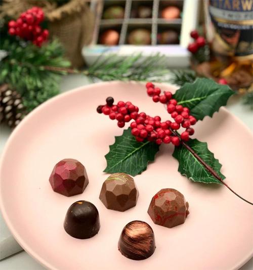 Whisky Chocolate Set