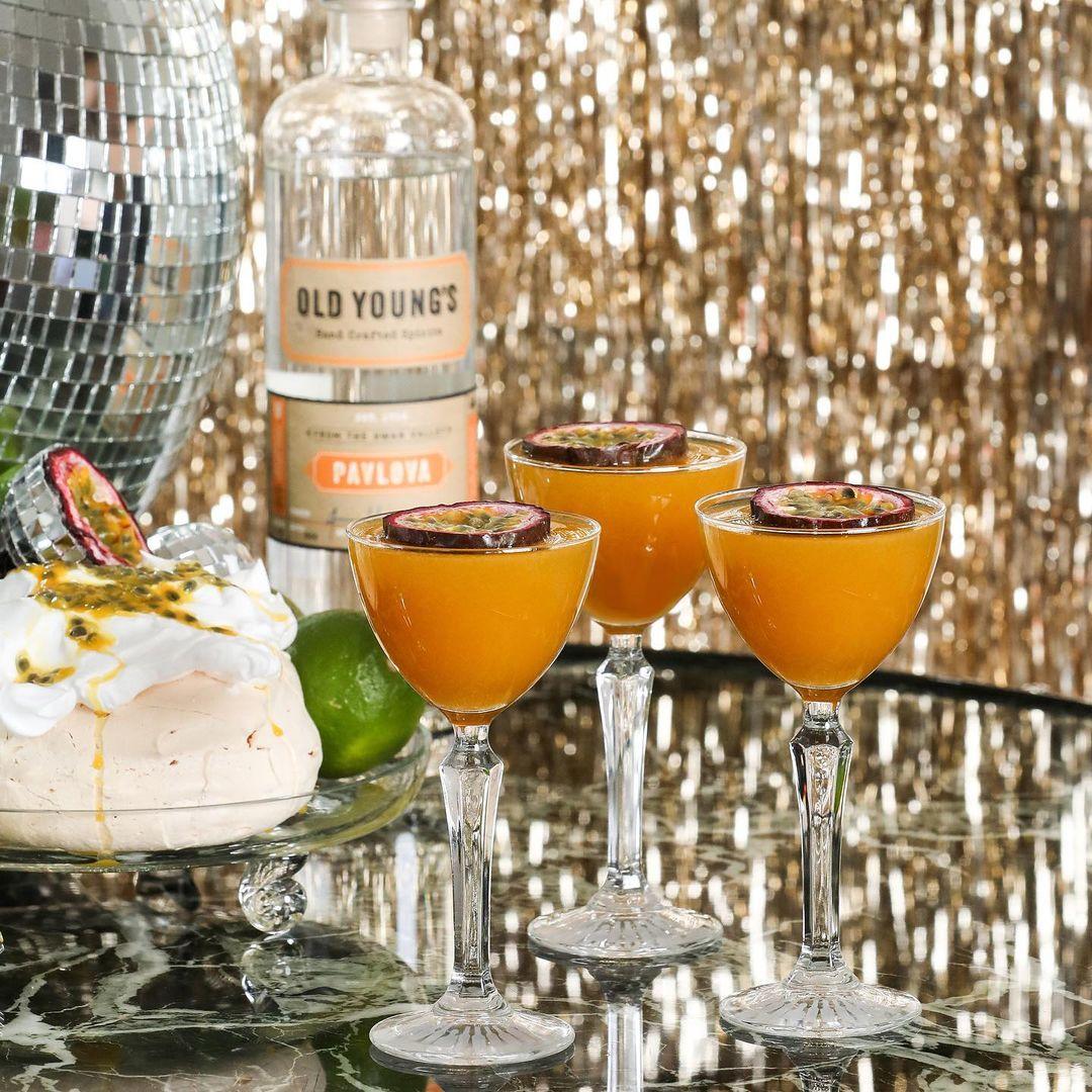 Pavlova Pornstar Cocktails by Curatif