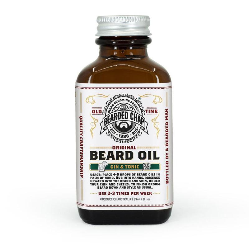 Gin & Tonic Beard Oil by The Bearded Chap
