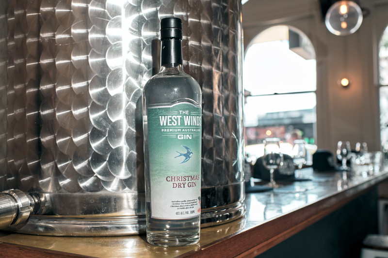 Christmas Dry Gin by The West Winds