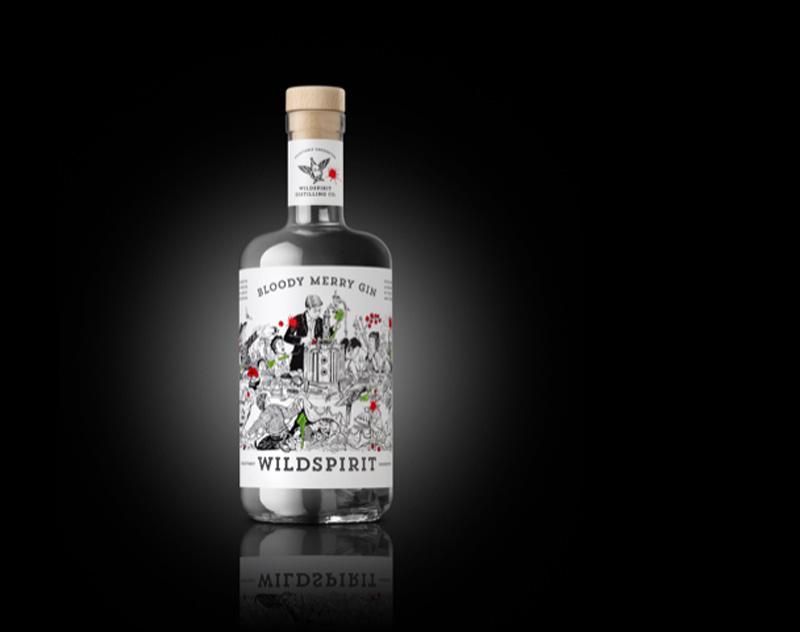 Bloody Merry Gin by Wildspirit