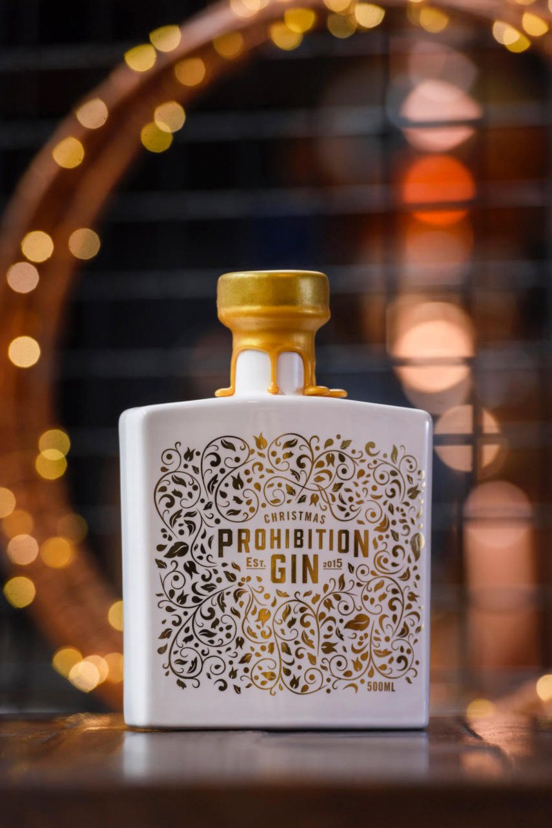 2020 Christmas Gin by Prohibition Liquor Co