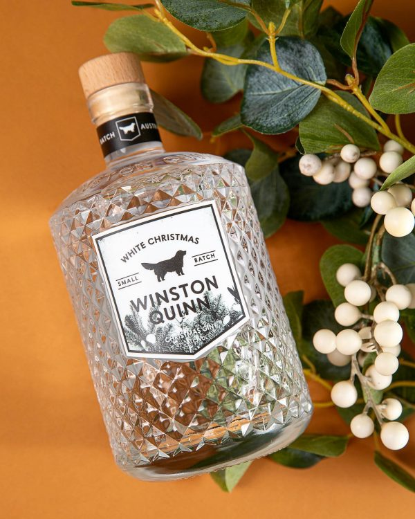 White Christmas Gin by Winston Quinn